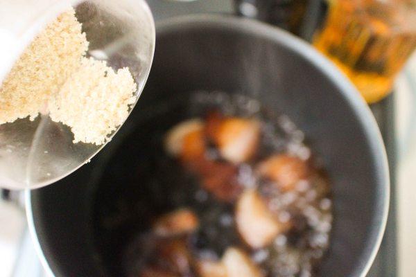 黑糖豚角煮