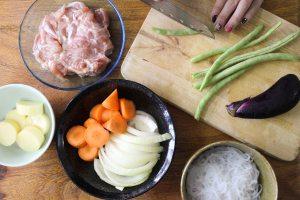 簡化版築前煮做法2