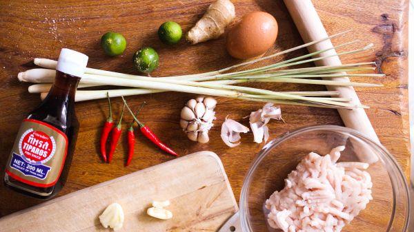 泰式香茅烤雞串燒做法1