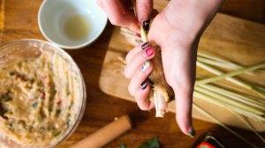 泰式香茅烤雞串燒做法6