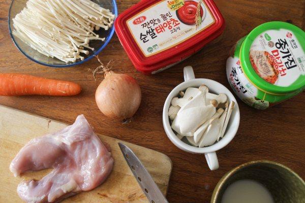 泡菜雞肉鍋
