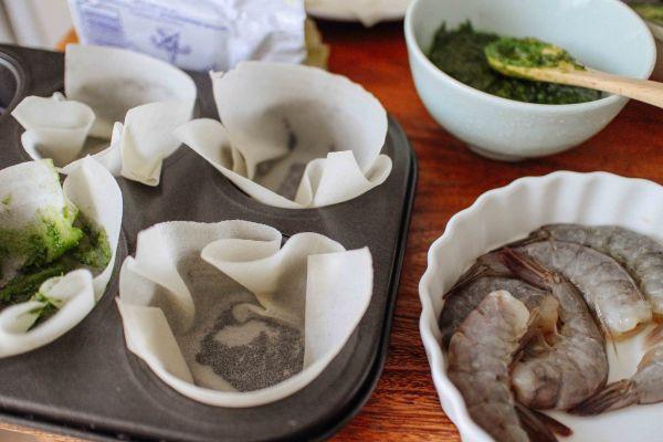 義式青醬海鮮千層麵 Seafood Lasagna with Pesto