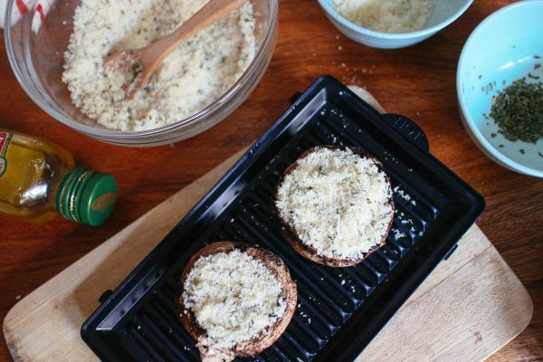 焗烤Portbello大香菇